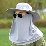 WideBrimTORCIACappucciorimovibileCollo Face Flap Hat