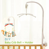 Culla Mobile Bed Bell Toy Holder Braccio staffa + Movimento a orologeria Musica
