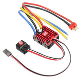 Hobbywing QuicRun ESC 1:10 1/8 WP Crawler Brush Brushed 80A Electronic Speed Controller