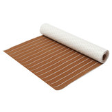 240cmX90cm Brown Boat EVA Foam Faux Teak Floor Mat 6mm Foam Teak Floor Mat