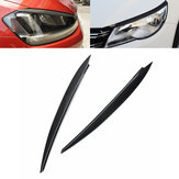 Car Headlight Eyebrow Eyelid Cover Trims Stickers Accessories For VW Golf 7 VII GTI GTD R MK7 2013-2017
