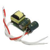4-5w corriente constante fuente de alimentación del conductor LED para el bulbo 85-277v