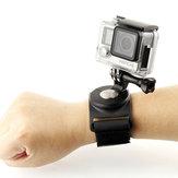 SHOOT 3 em 1 luva rotativa de 360 graus suporte para alça de perna para câmera esportiva Gopro SJCAM Yi