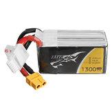 TATTU 18.5V 1300mAh 75C 24.05Wh 5S XT60 Plug Lipo Bateria para FPV RC Drone