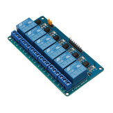 6 Channel 5V Relay Module With Optocoupler Protection Low Level Trigger BESTEP for Arduino - products that work with official Arduino boards