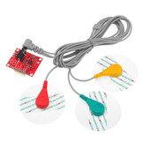 AD8232 Misurazione impulso Cuore Monitoraggio Cuorebeat Sensor Module Monitor dispositivi