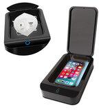 X2 Maska Sterylizator UV Ultrafioletowe pudełko do dezynfekcji do maski telefonicznej KN95 Zdalna szczoteczka do zębów