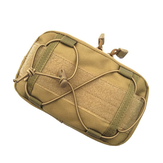 Geloof PRO 1000D Tactische Molle Taille Tassen EDC Tool Belt Utility Admin Pouch Taille Pack
