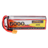 ZOP Power 11.1V 6000mAh 65C 3S Lipo Батарея XT60 Разъем для RC Дрон