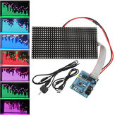 16X32 Colorful Music Spectrum STM32 LED Frecuencia de luces Pantalla Tablero de matriz de puntos ensamblado