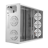 Crypto Coin Open Air Mining Frame Rig Graphics Case voor 6-8 GPU ETH BTC Ethereum