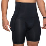 Mens High Waist Compression Underwear Butt Lifting Shapewear