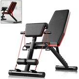 5-in-1 Gym Bench Multifungsi Telentang Papan Lipat Perut Pelatihan Mesin Binaraga Rumah Peralatan Fitness