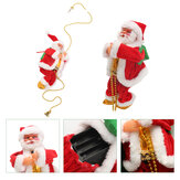 Christmas Senta Claus Climbing Ladder Hanging Decorations Holiday Gift
