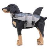 Cachorro Life Jacket Pet Vida Poupança Para Natação Barco Cachorro Floatation Life Preserver Coat Segurança