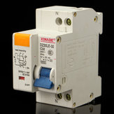 Miniature Circuit Breaker AC230V 50Hz 2P 32A Rated Current 30mA