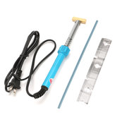 40W Soldering Iron w/ T-Tip Adapter Head and Rubber Cable Iron Soldering Tool Kit