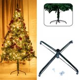 2020 Christmas Tree Stand Holder Christmas Tree Holder Metal Stand Base Rack 4 Feets Christmas Tree Accessories for New Year Home Decor