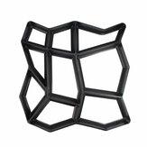 43 * 43см Path Maker Mold Многоразовый бетонный цементный камень Дизайн Paver Walk Mould