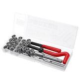 25pcs M12 Kit de Ferramentas de Reparo de Roscas para Restaurar Roscas Danificadas Chave Inglesa chave Twist Broca Bit Kit