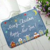 40x60 centimetri di Natale flanella tappeto di schiuma di memoria velluto bagno assorbente tappetino antiscivolo piano morbido tappeto