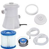 Swimming Pool Filter Pump Reusable Water Cleaner Electric Filter Pump