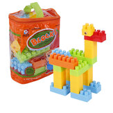 Goldkids HJ-3801D 34PCS Multi-estilo DIY Assembléia Play & Learning Blocks Toys for Kids Gift