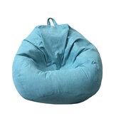 Gran frijol Bolsa funda de sofá para sofá con relleno de EPS, sillas de terciopelo, silla para juegos, tatami para sala de juegos, dormitorio