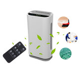 LCD Air Purifier 180-480m³/h Air Filter Air Cleaner PM2.5 Odor Eliminator Remover Ozone Generator