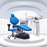 1 Zestaw zmywalny Elastyczny Dental Unit Cover Cloth Dentist Chair Zagłówek Protector Rękawy Tools