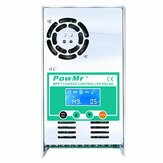 PowMr MPPT 60A Solar Charge and Discharge Controller 12V 24V 36V 48V Auto for Max PV 190VDC Lead Acid Lithium Battery