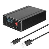 ATU100 1.8-55Mhz Automatic Shortwave Antenna Tuner USB Type-C Rechargeable with 0.96inch OLED Display