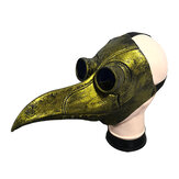 Halloween Cosplay Steampunk Plague Doctor Mask Bird Beak Props Retr Gothic Mask