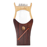 Walter WH-01 10-String Rubber wood Iyre Harp With Bag Tunning Tool