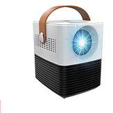 L7 Mini Akıllı LCD Projektör 2000 Lümen Taşınabilir 3D Projektör Ev Sineması için Destek 1080 p Oynamak Için oyunları