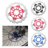 BIKIGHT 180 / 160MM Stainless Ultra Light 6pcs T25 Screws Floating Disc MTB Bike Brake Rator