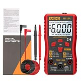 ANENG M118A Digitale Mini Multimeter Tester Auto Multimeter True Rms Transistor Meter met NCV Data Hold 6000 Counts Zaklamp