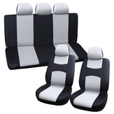 9PCS Universal Front&Rear Car Seat Covers Full Seat Cover Cushion Protector