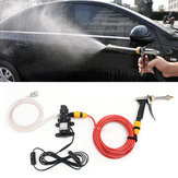 12V 60W Electric Car Wash Pump Water Cleaner Washer Pressure Sprayer Tool Kit