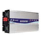 Inversor puro do poder da onda de seno da tela inteligente 12V / 24V a 240V conversor de 3000W / 4000W / 5000W / 6000W