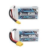 CODDAR 7.4V 1500mAh 2S 110C Lipo-batterij XT30 / XT60-stekker optioneel voor RC-drone