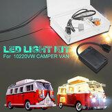 Bricolage LED Kit d'éclairage léger uniquement bricolage pour LEGO 10220 Interface USB VW CAMPER VAN