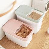 20キログラム食品収納ボックス米キッチン収納コンテナ穀物収納猫トイレおもちゃ旅行キャンプ用収納箱