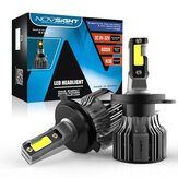 NovSight A500-N39 2PCS 72W Car LED Headlights Bulbs H1 H3 H4 H7 H11 H13 9005 9006 9007 Fog Lamps 10000LM 6000K