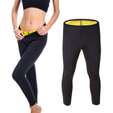 Unisex Neopren Hot Body Accelerate Sweating Slimming Fitness Bukser Yoga Sportsbukser