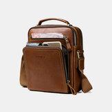 Men Genuine Leather Fashion Shoulder Bag Crossbody Bag Business Bag