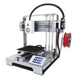 Easythreed® X6 Kit d'imprimante 3D portable bricolage de bureau Taille d'impression 140 * 140 * 140 mm avec buse de lit chauffant de 1,75 mm 0,4 mm