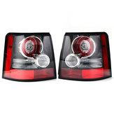 2 PCS Car Rear LED Tail Light Lamps for Land Rover Range Rover Sport 2005-2013