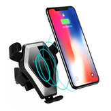 Bakeey Qi Inalámbrico Coche Suckers Cup Air Vent Mount Soporte de escritorio Fast Charger para iPhone X S8 Note 8