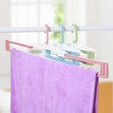 Folding Hanger Cloth Racks Portable Travel Hanger Racks Plastic Drying Racks